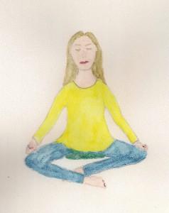 Ziekelijk Gelukkig mediteren