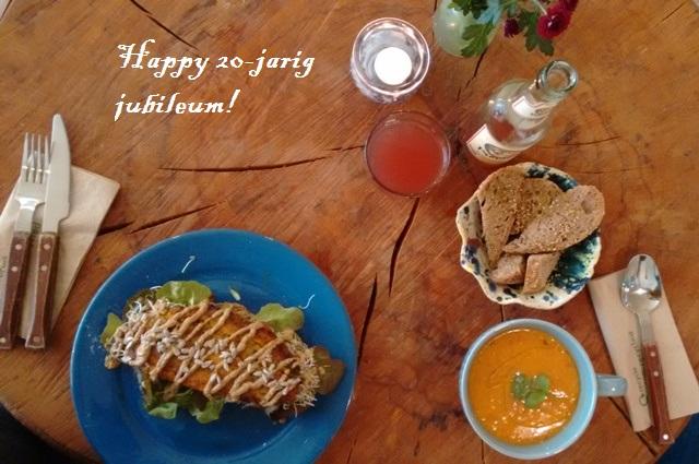 lunch 20 jarig jubileum