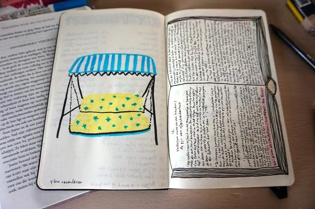 zelfzorgdagboek 2 ziekelijk gelukkig self care journal jan18